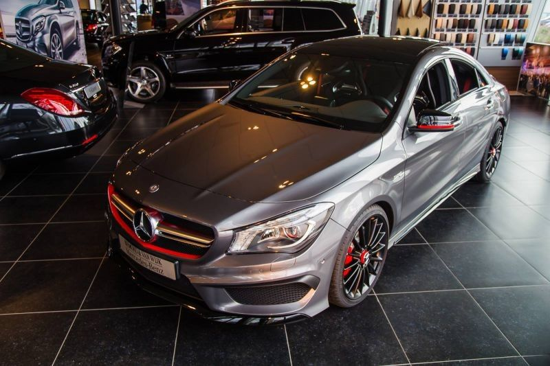 annonce vente mercedes benz cla cla 45 amg edition 1. Black Bedroom Furniture Sets. Home Design Ideas