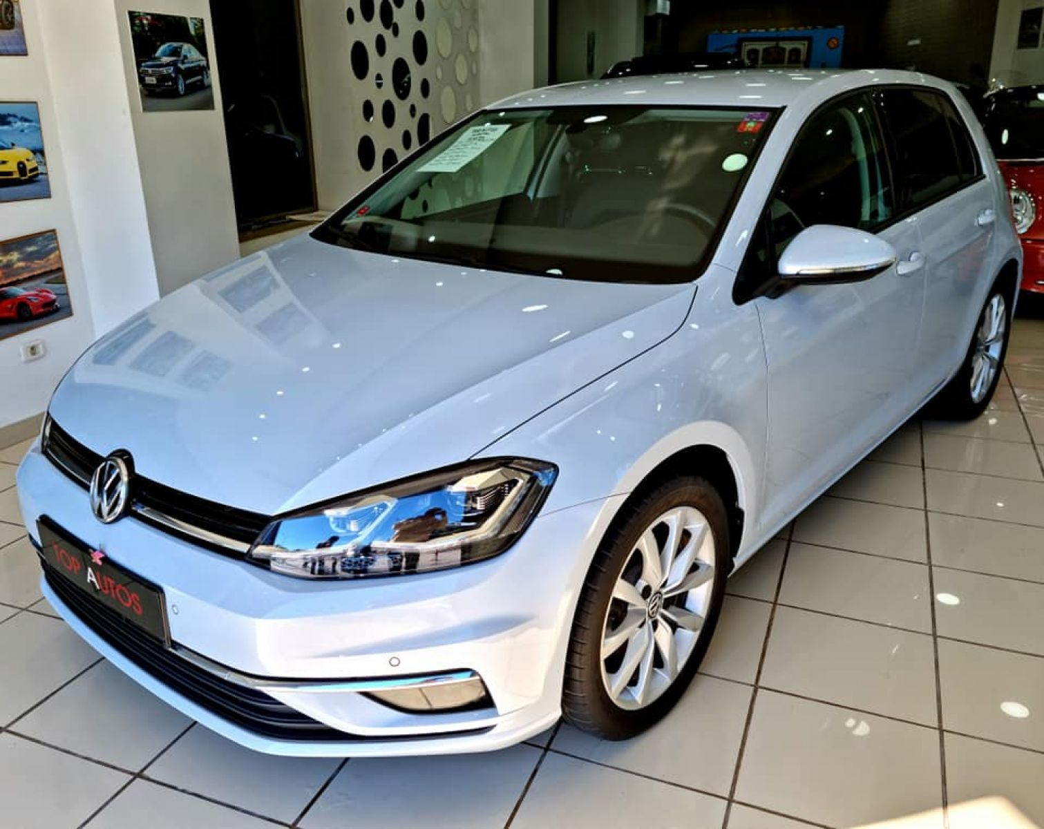 Carte voiture Volkswagen Golf 7