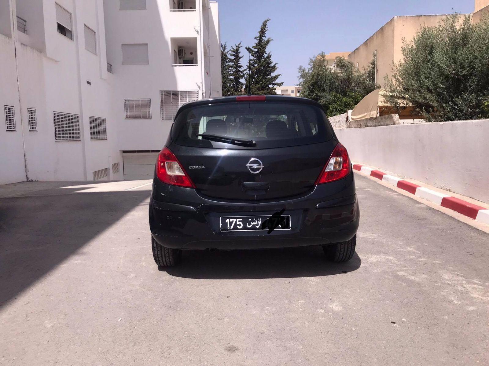 Carte voiture Opel Corsa