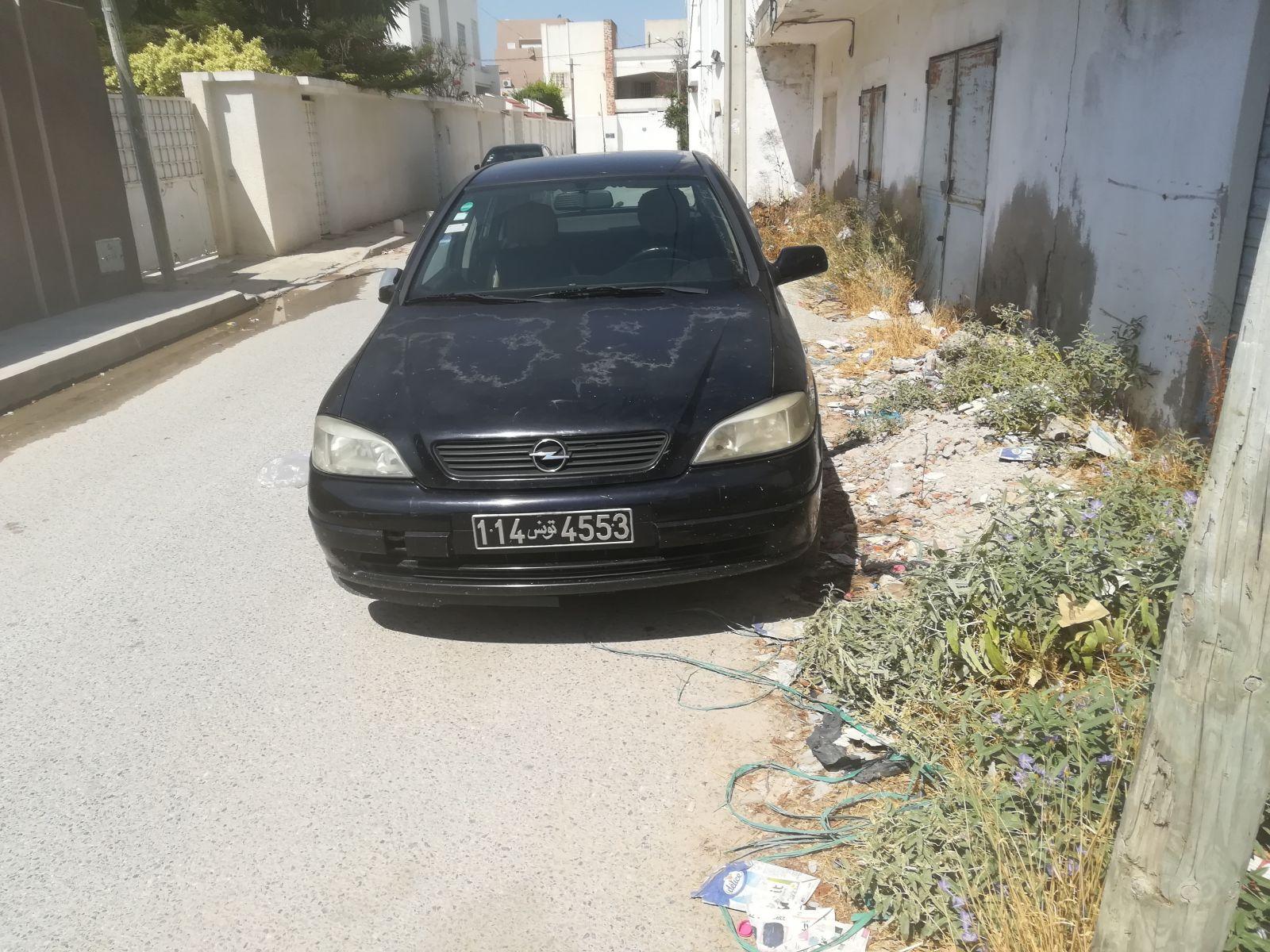Carte voiture Opel Astra